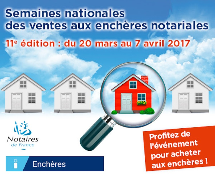 semaine enchere notariale immobilier