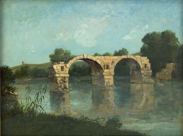 gustave-courbet-pont-ambrussum-montpellier-musee-fabre