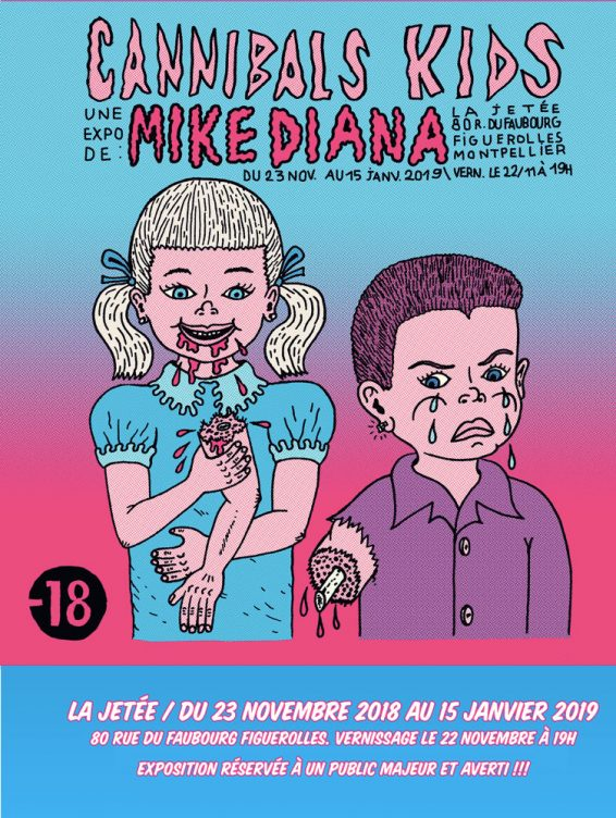 mike diana affiche
