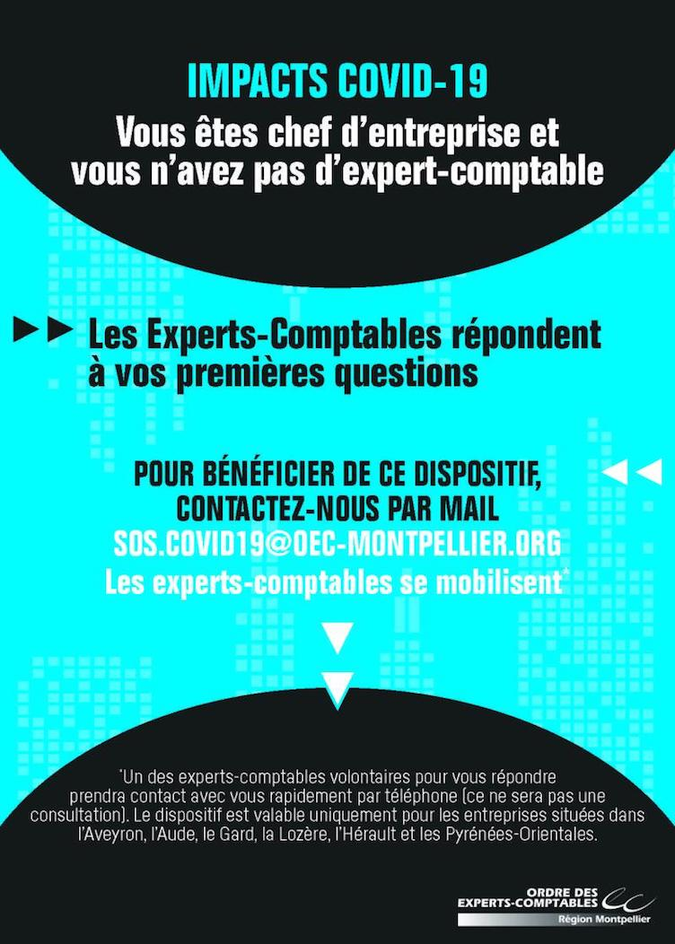 impacts covid 19 experts comptables montpellier