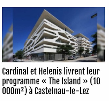 helenis immobilier the island montpellier insert site